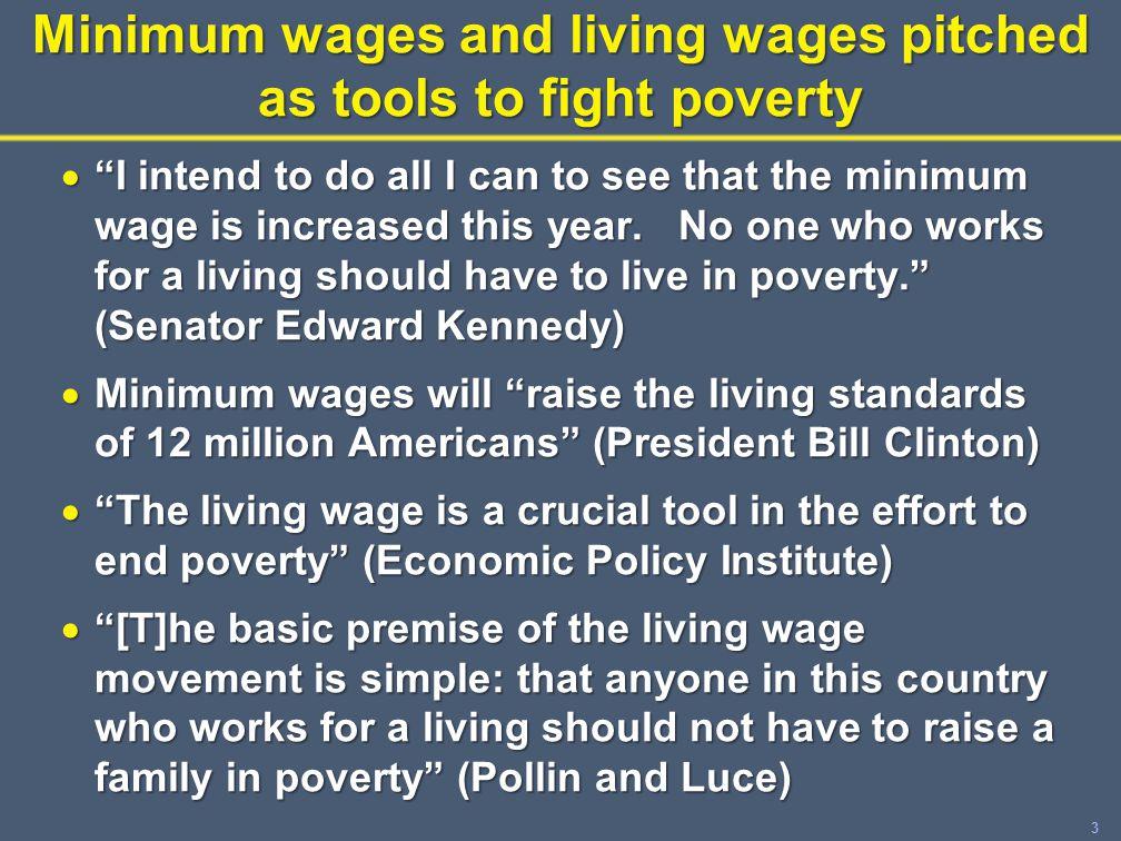 24 Estimating effects of minimum wages on income distribution (II) No minimum wage increase Minimum wage increase Year 1 income distribution (white) Year 2 income distribution (green) % families Income / Needs 1