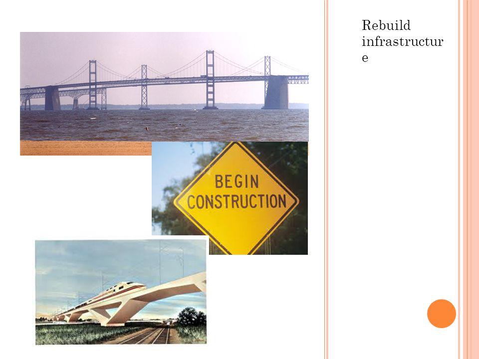 Rebuild infrastructur e