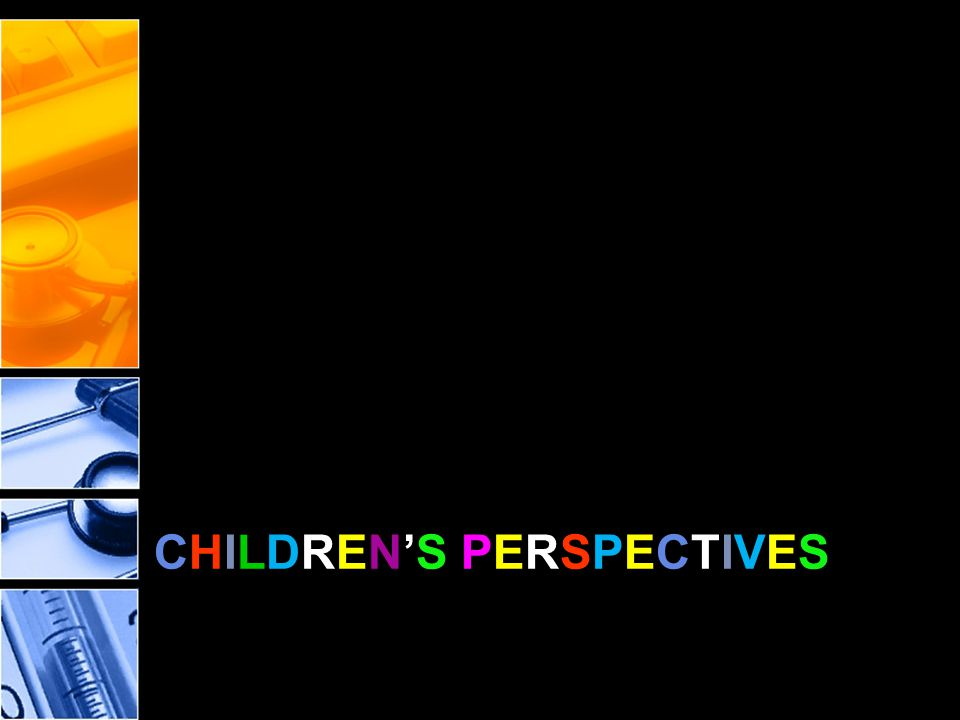 CHILDREN'S PERSPECTIVESCHILDREN'S PERSPECTIVES