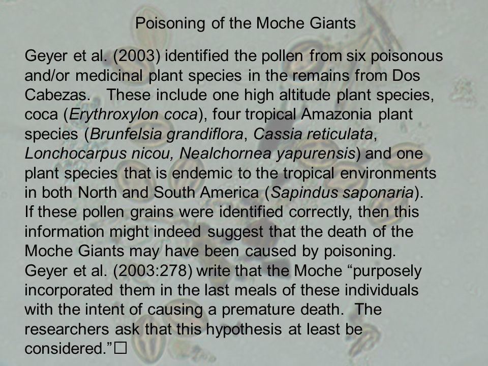 Poisoning of the Moche Giants Geyer et al.