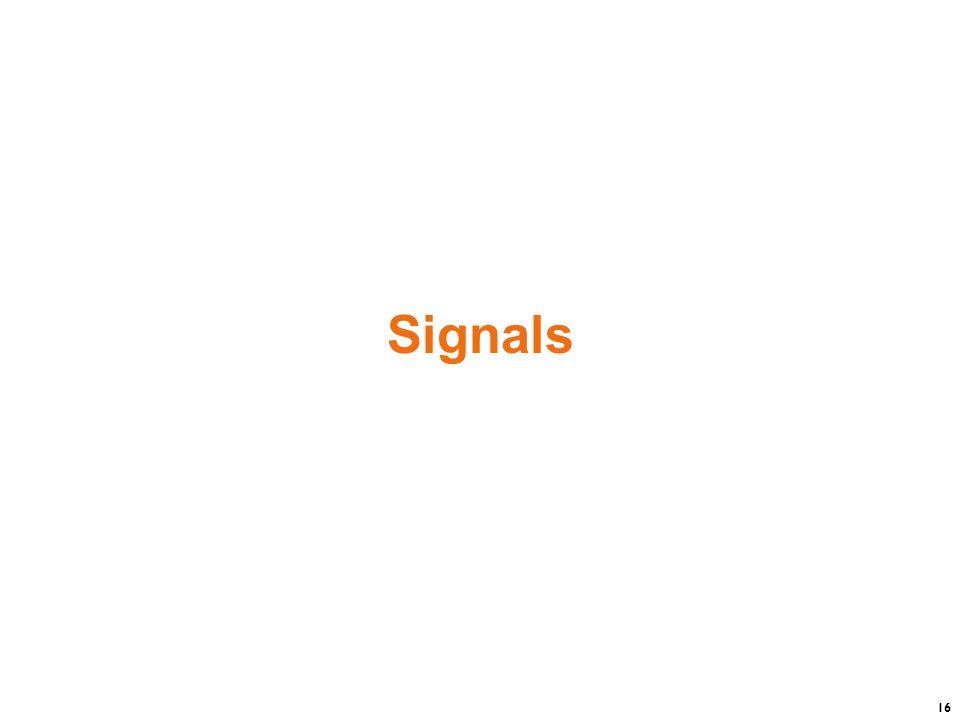 16 Signals