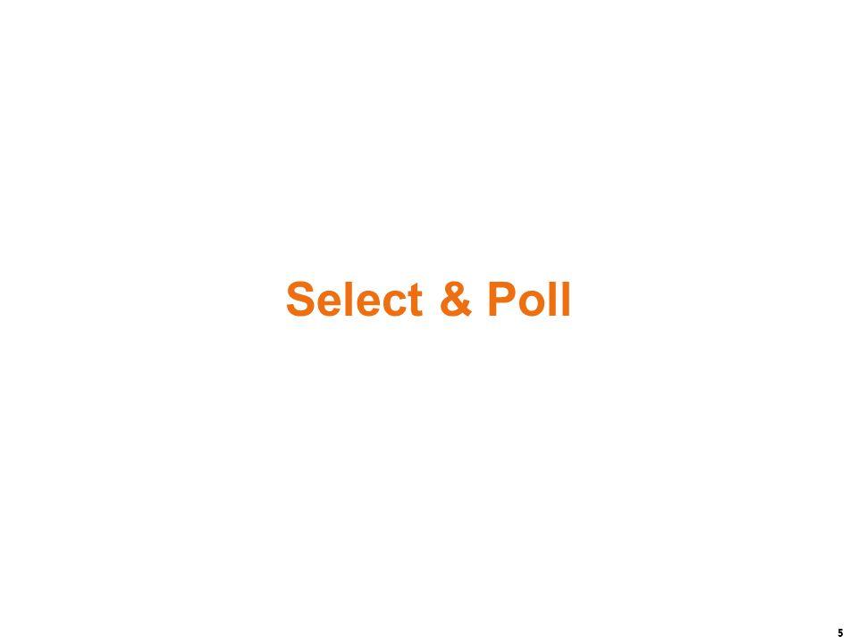 5 Select & Poll
