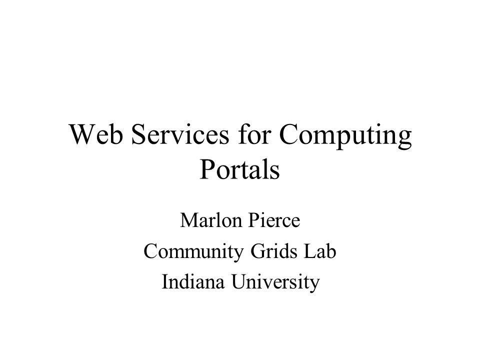 General Metadata Web Services (MDWS) Application web services are based around schema.