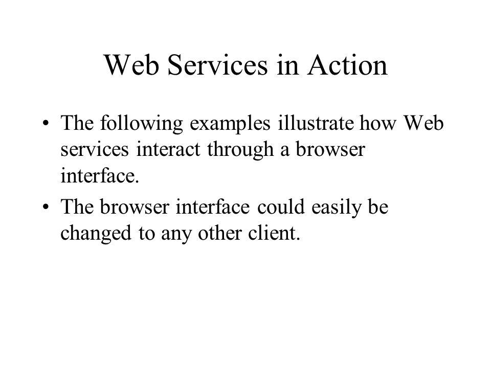 <soapenv:Envelope xmlns:soapenv= http://schemas.xmlsoap.org/soap/envelope/ xmlns:xsd=http://www.w3.org/2001/XMLSchema xmlns:xsi= http://www.w3.org/2001/XMLSchema-instance > <ns1:execLocalCommand soapenv:encodingStyle = http://schemas.xmlsoap.org/soap/encoding/ xmlns:ns1 = http://.../GCWS/services/Submitjob/GCWS/services/Submitjob > /usr/bin/csh /tmp/job.script SOAP Request