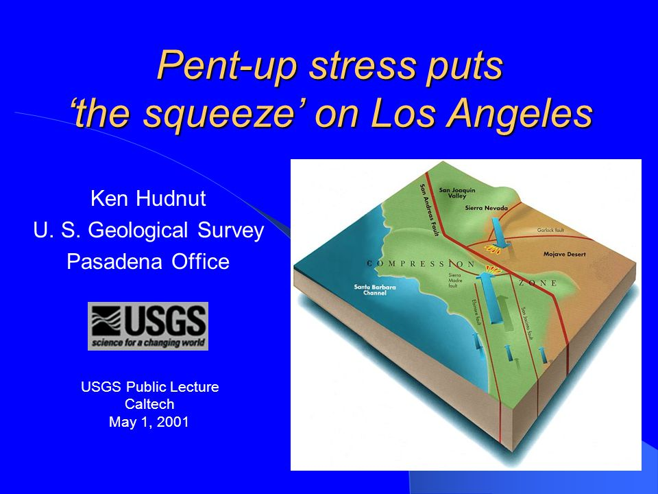 Pent-up stress puts 'the squeeze' on Los Angeles Ken Hudnut U.