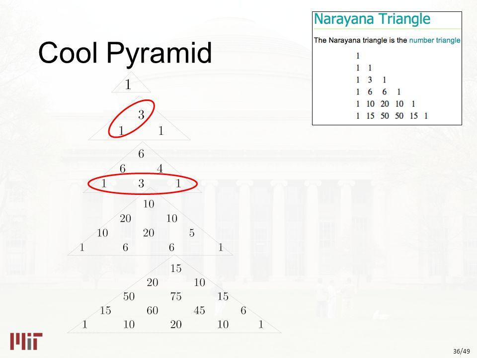 36/49 Cool Pyramid