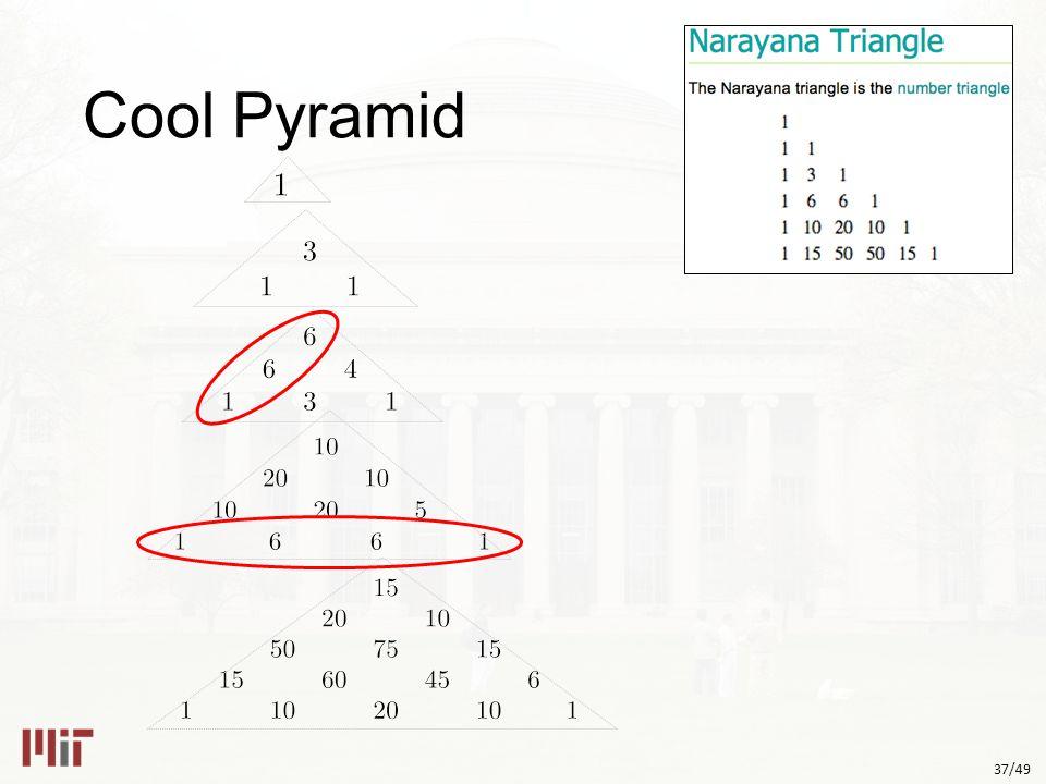 37/49 Cool Pyramid