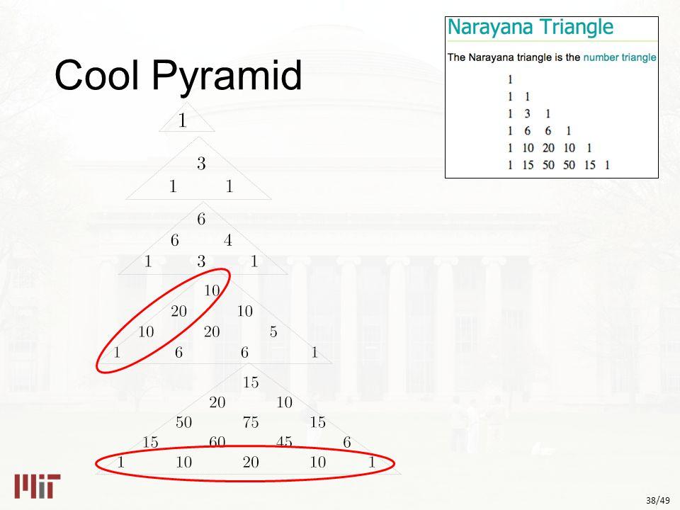 38/49 Cool Pyramid