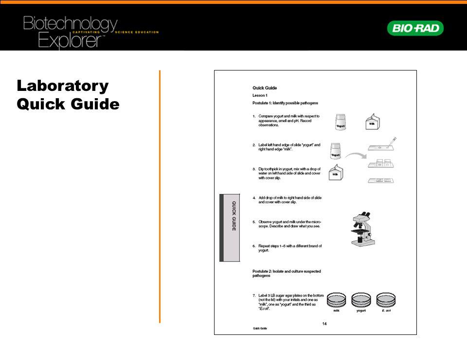 Laboratory Quick Guide