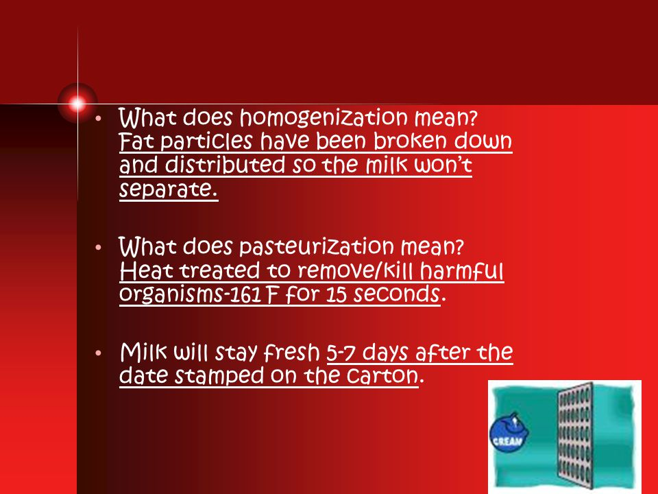 What does homogenization mean.