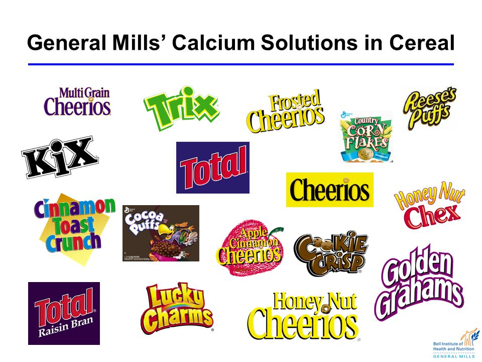 General Mills' Calcium Solutions in Cereal