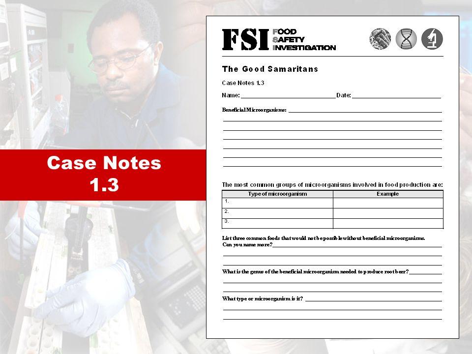 Case Notes 1.3