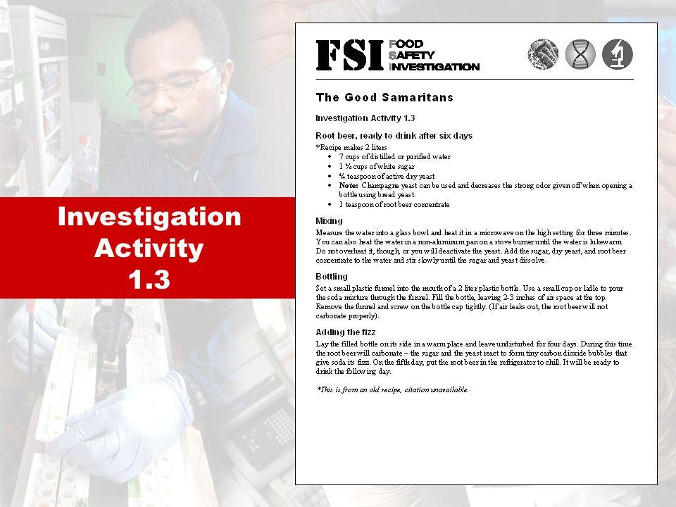 Investigation Activity 1.3