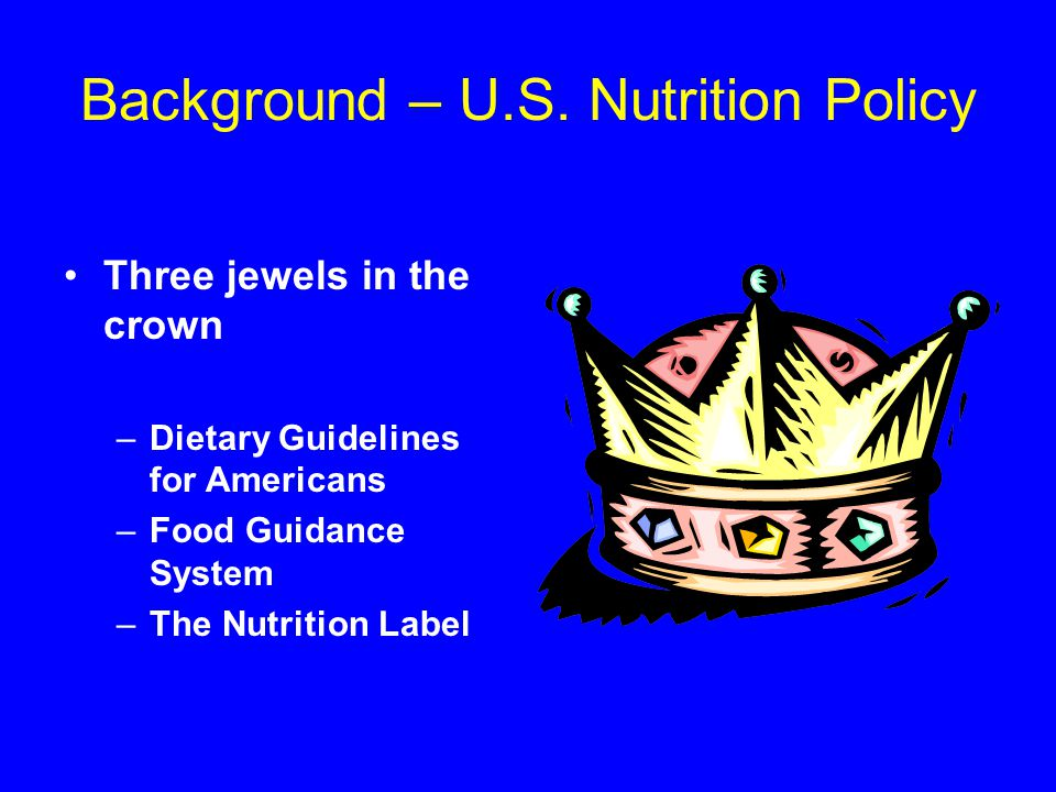Get Enough of These Nutrients Choose foods with the higher % DV for these nutrients