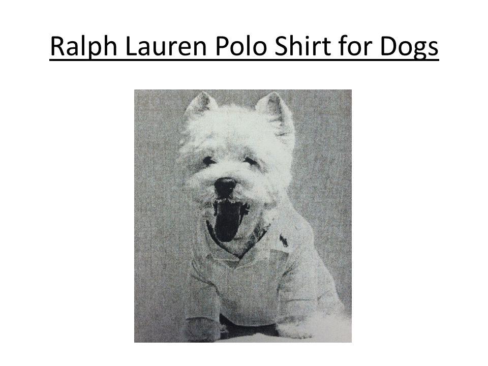 Ralph Lauren Polo Shirt for Dogs