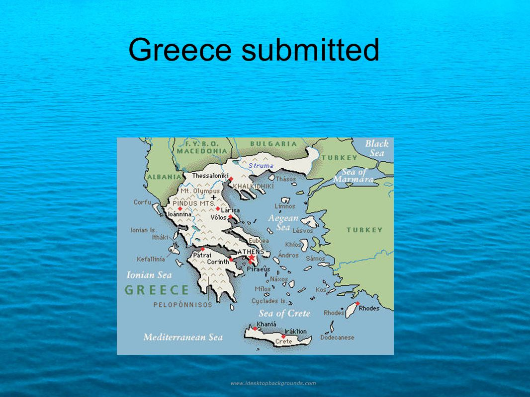 Greece submitted
