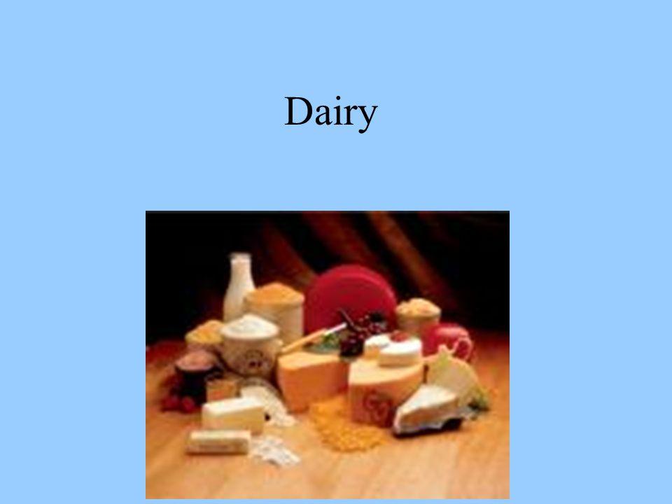 MORE TYPES OF MILK Kefir Beverage similar in flavor to yogurt.