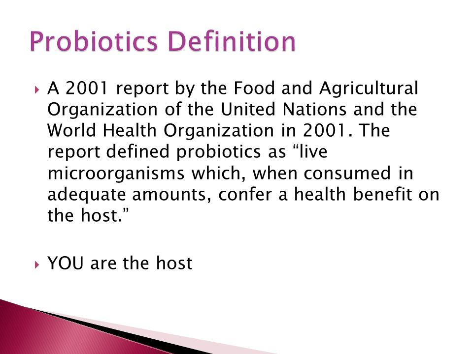  A 2001 report by the Food and Agricultural Organization of the United Nations and the World Health Organization in 2001.