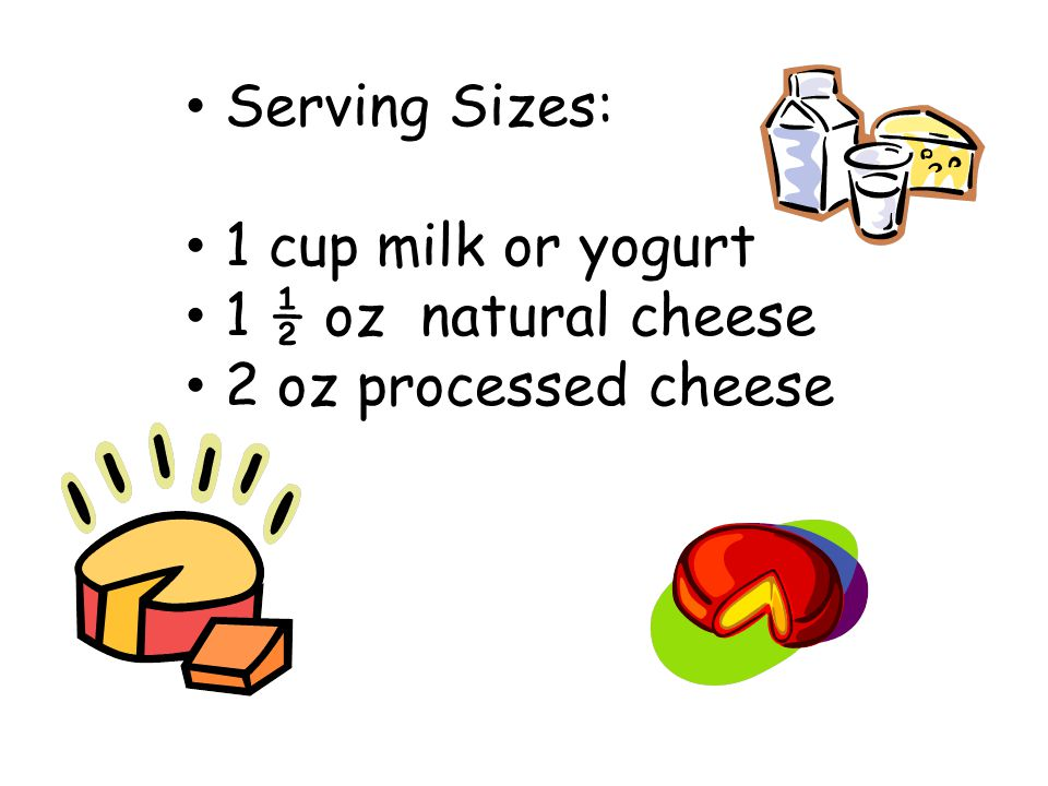 Are you getting enough? Approximately how much milk should the following people drink each day: Adults______3______ Teenagers____3-4_____ Children____