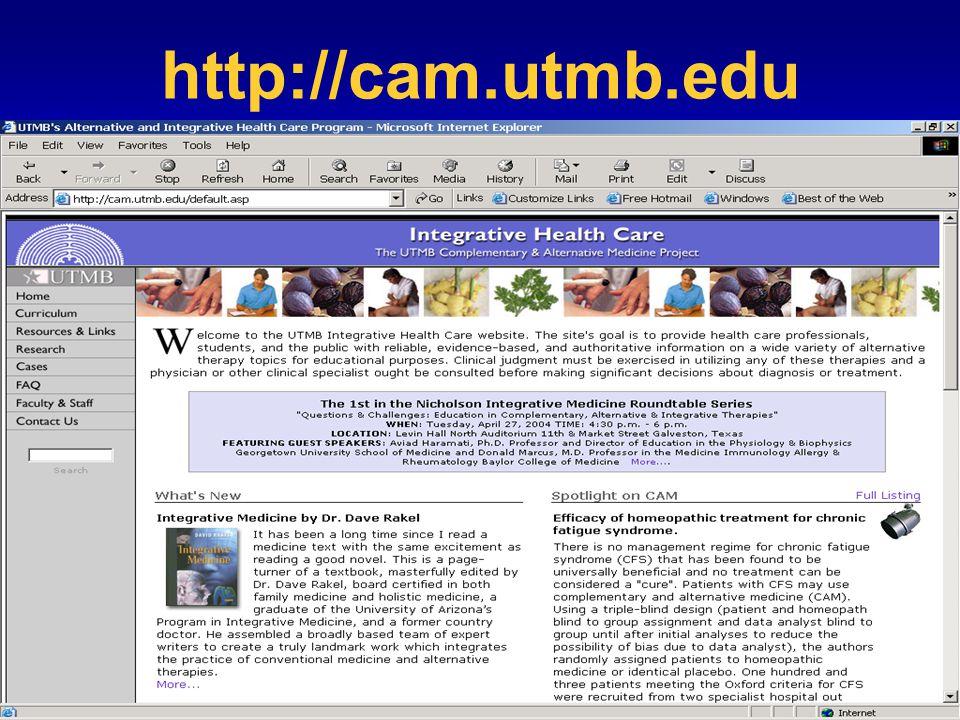 http://cam.utmb.edu