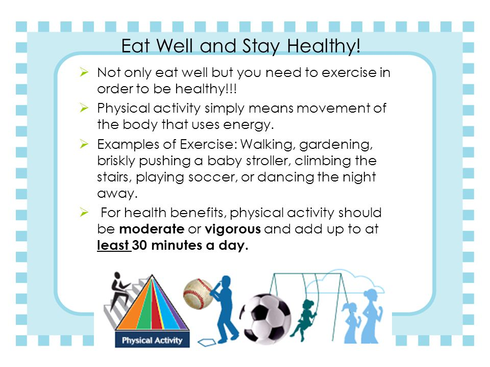 Conclusion  Your food and physical activity choices each day affect your health 6 ounces 2.5 cups 2 cups 3 cups 5.5 ounces