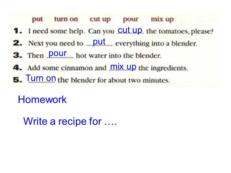 Pour flour jam in the pan. bake the pancake