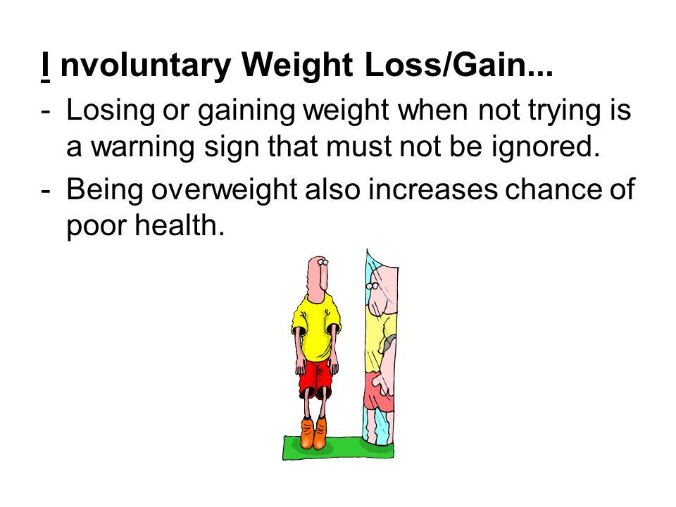 I nvoluntary Weight Loss/Gain...