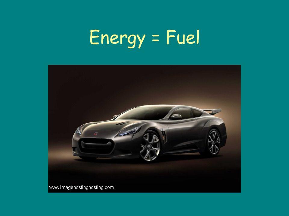 Energy = Fuel