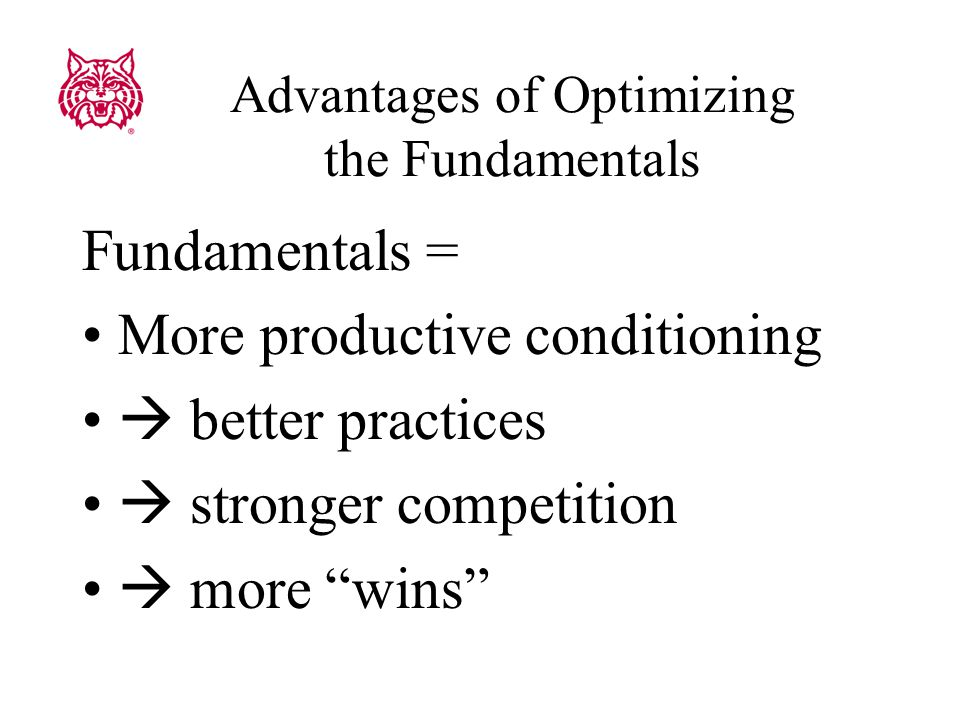 Eat to Compete – Fundamentals Practical applications 4.