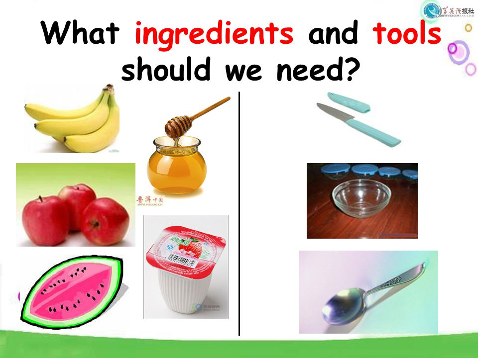 What ingredients and tools should we need