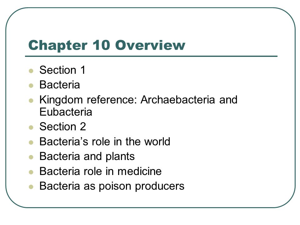 Chapter 10 Overview Section 3 Viruses The discovery of Viruses Vaccines