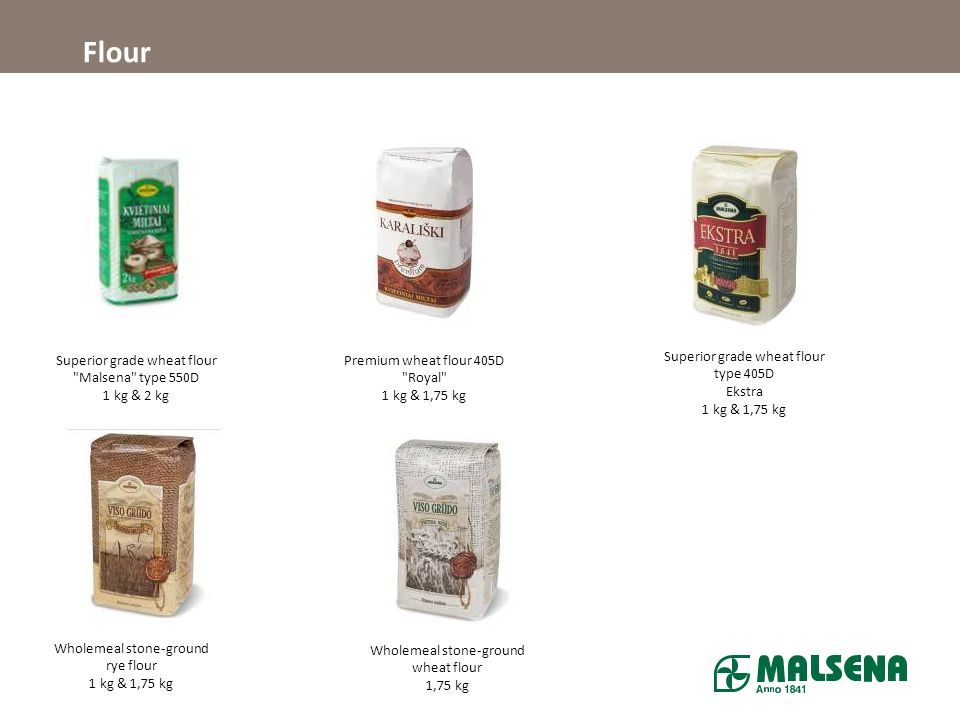 Flour Superior grade wheat flour