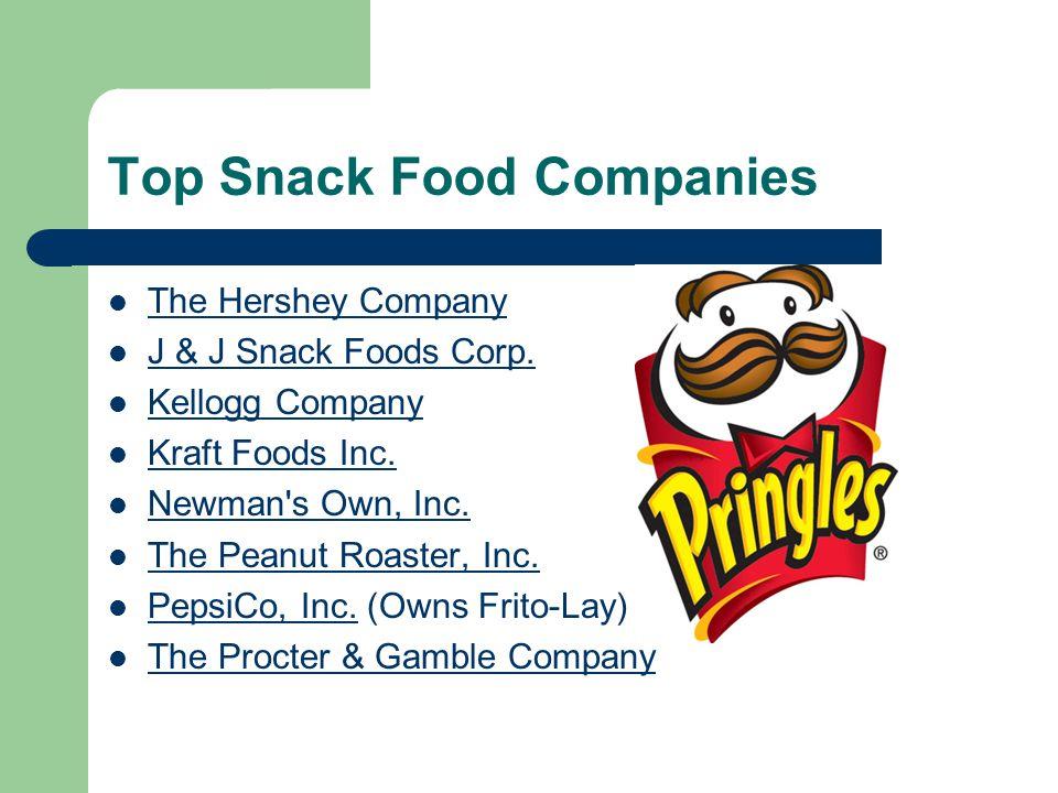 Top Snack Food Companies The Hershey Company J & J Snack Foods Corp.