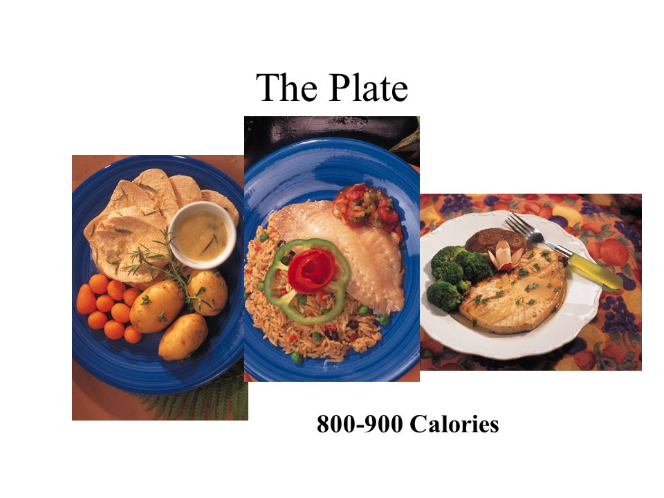 The Plate 800-900 Calories