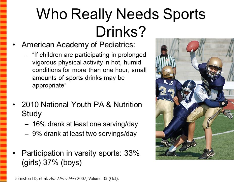 Who Really Needs Sports Drinks.