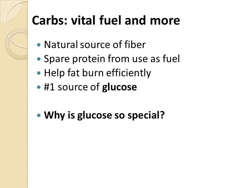 Eat more healthy, complex carbs fruit, veg, whole grains, greens + beans Eat fewer 'added sugar' foods max/day advised ~25 g/day women ~35 g/day men Read full carb breakdown on Facts Panel Check out ingredient list for carb origin