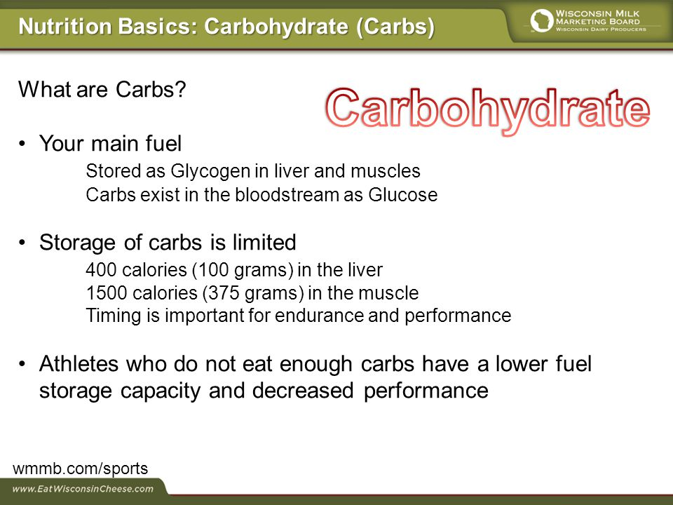 What are Carbs.