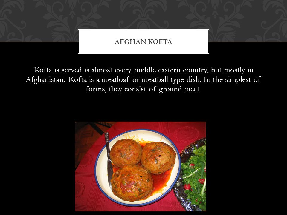 Khameerbob is a incredibly popular, nartive Afghan dish.