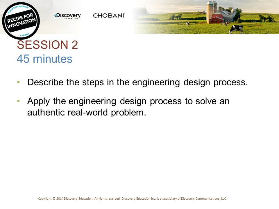 CHECK FOR UNDERSTANDING Testing solutions is an important part of the engineering design process.