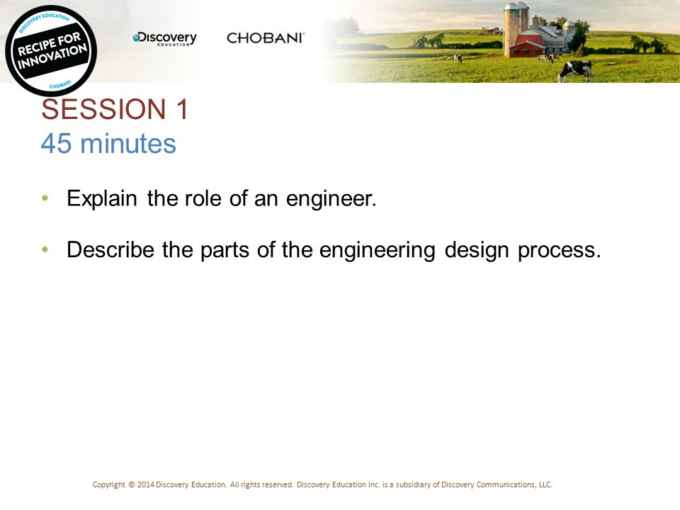 NAME THAT ENGINEER Copyright © 2014 Discovery Education.