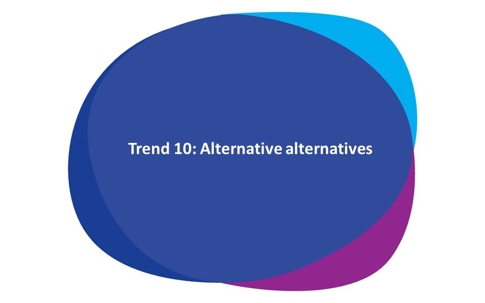 Trend 10: Alternative alternatives delay