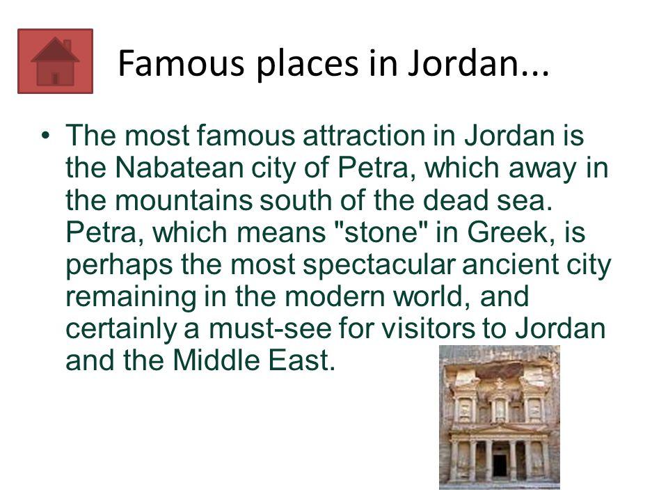 Famous places in Jordan...