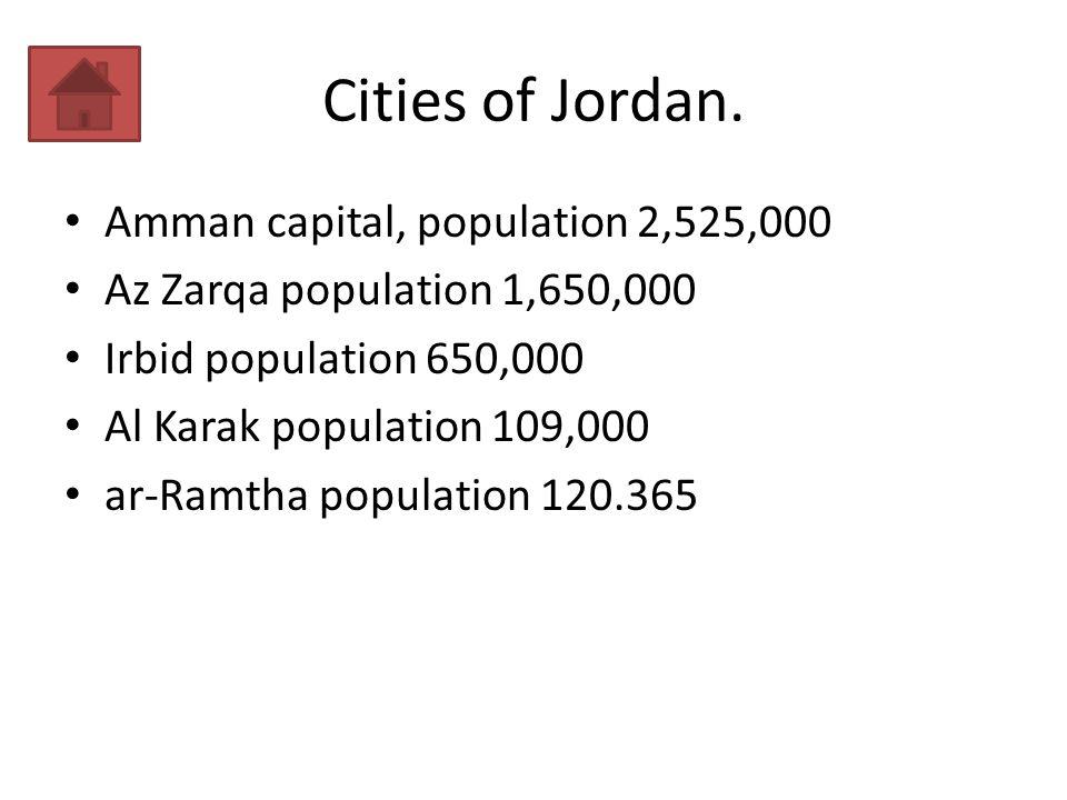 Cities of Jordan.