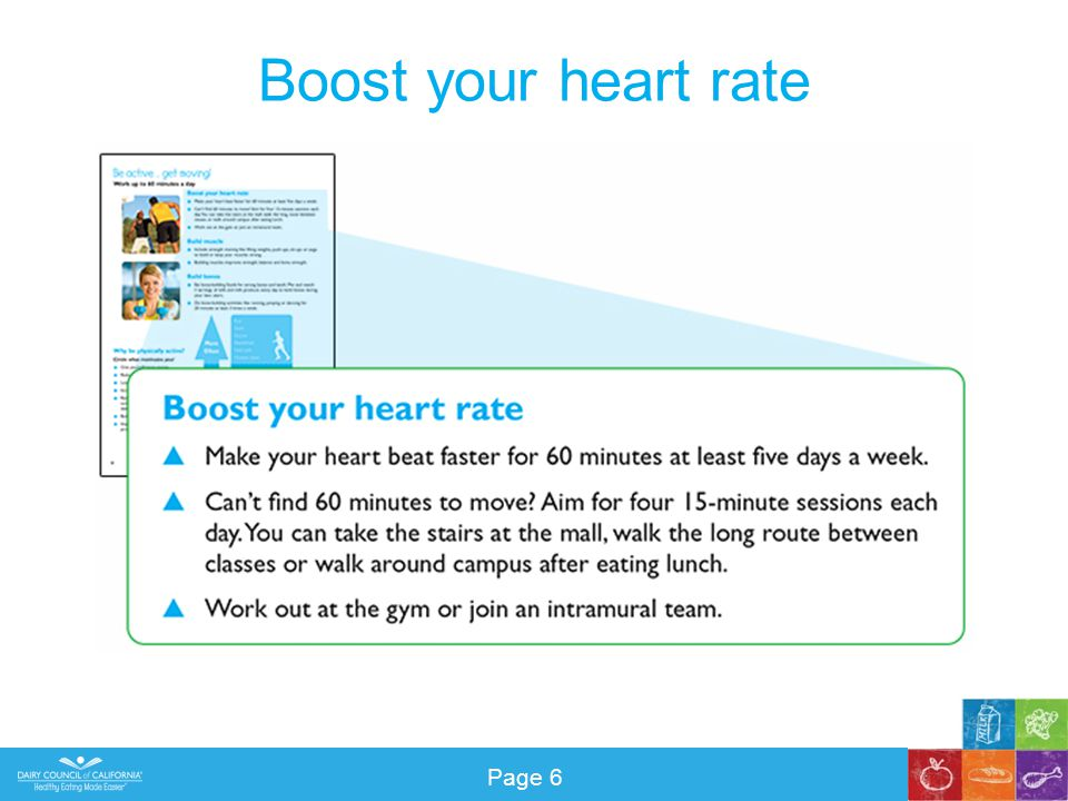Boost your heart rate Page 6