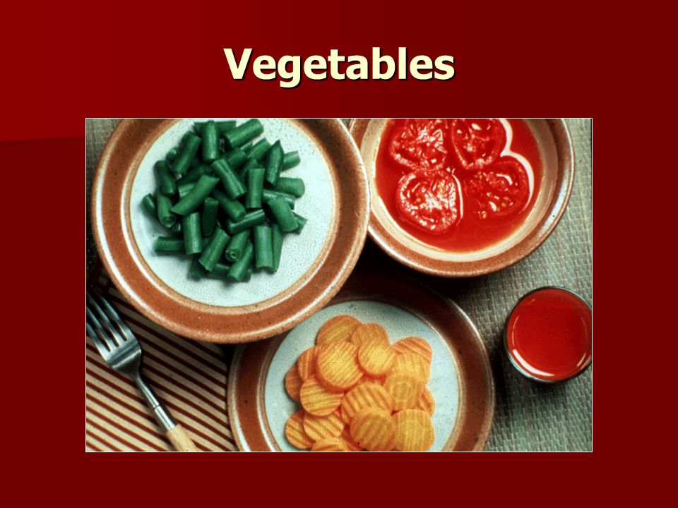 Vegetables Vegetables are counted as 5 g carbohydrate for the following servings sizes: ½ C cooked vegetables ½ C cooked vegetables 1 C raw vegetables 1 C raw vegetables