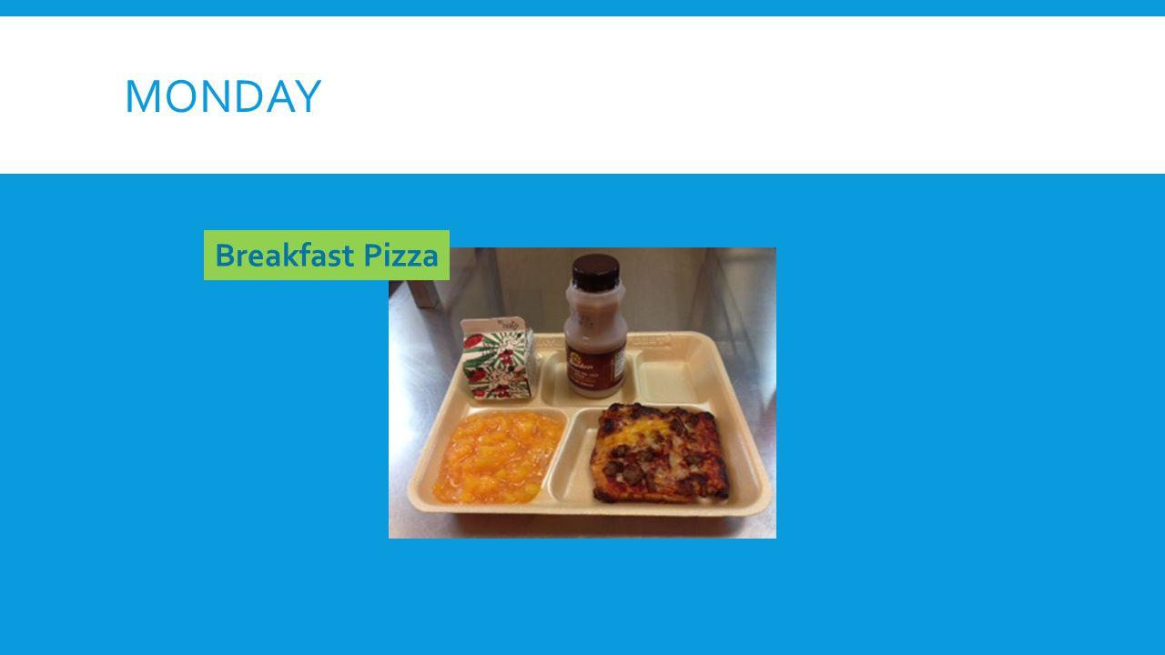MONDAY Breakfast Pizza