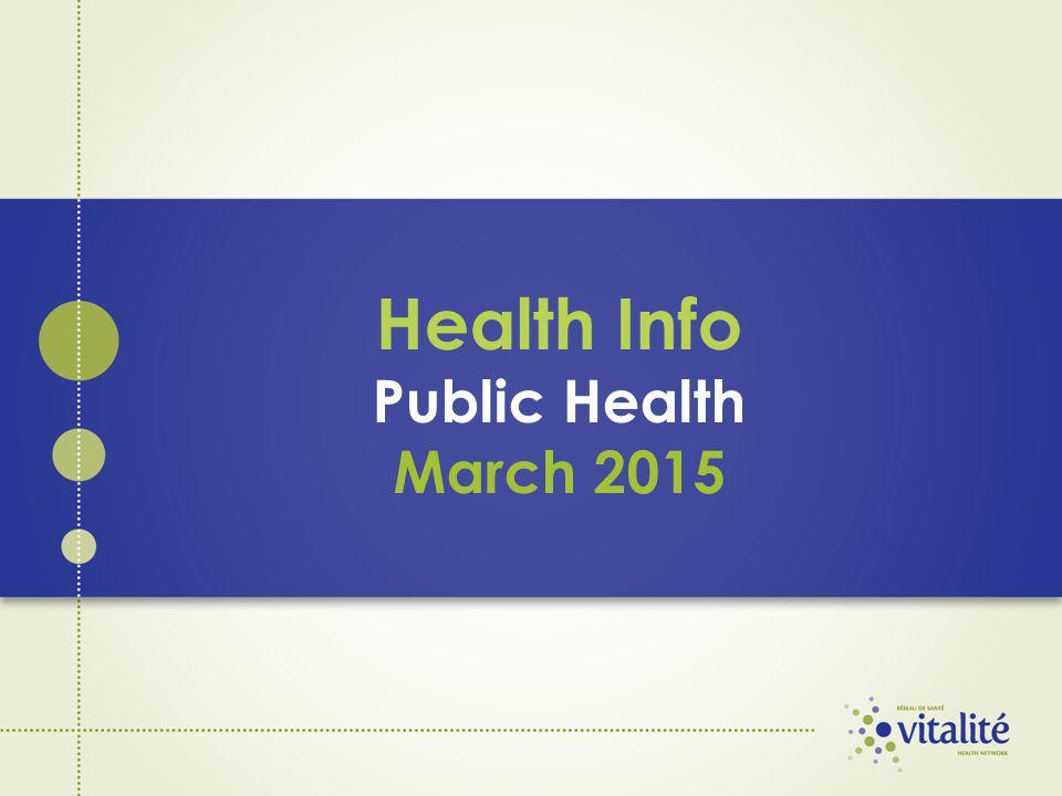 Health Info Public Health March 2015