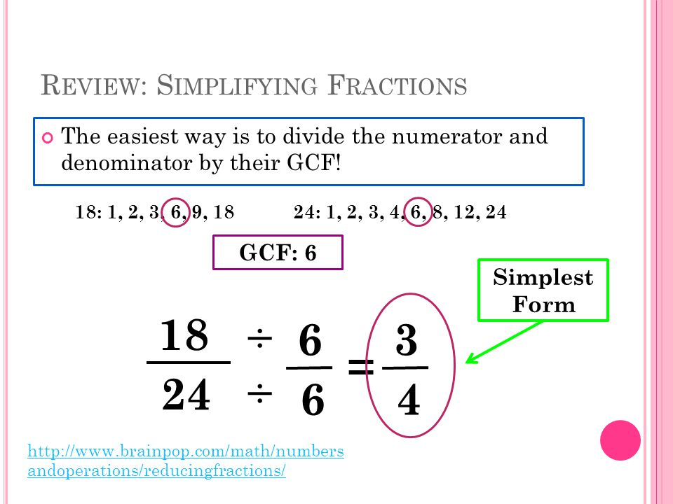  Leave the first fraction.Change the division sign to multiplication.