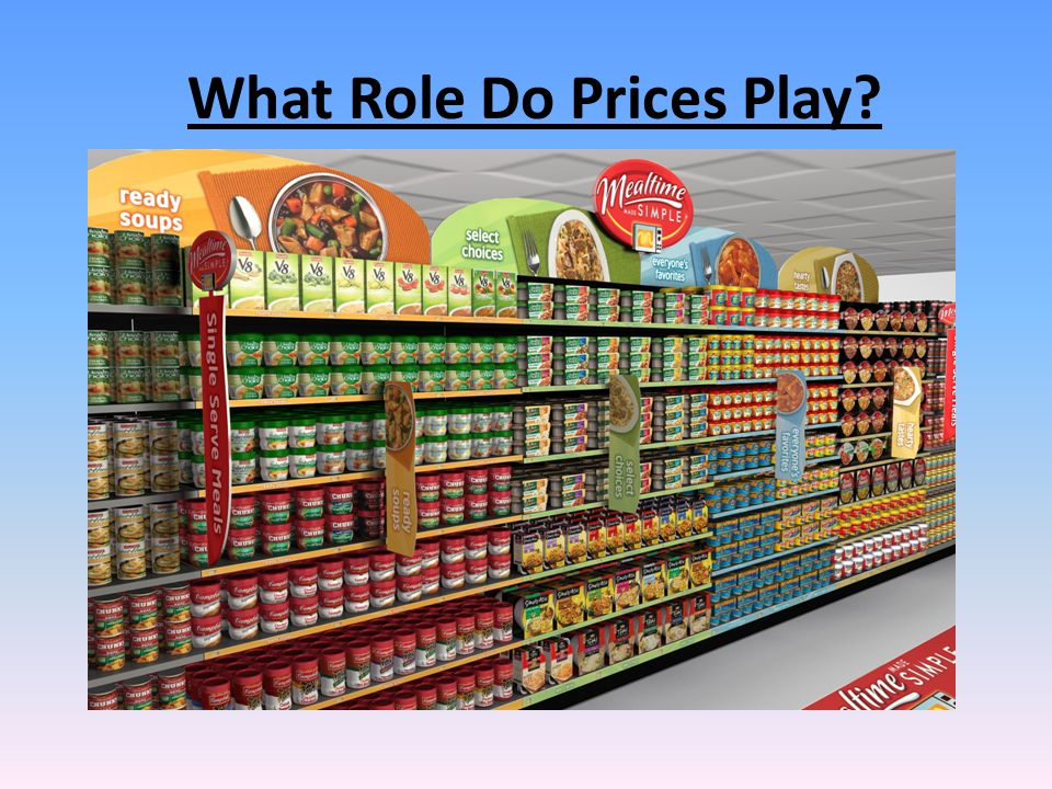 What Role Do Prices Play?