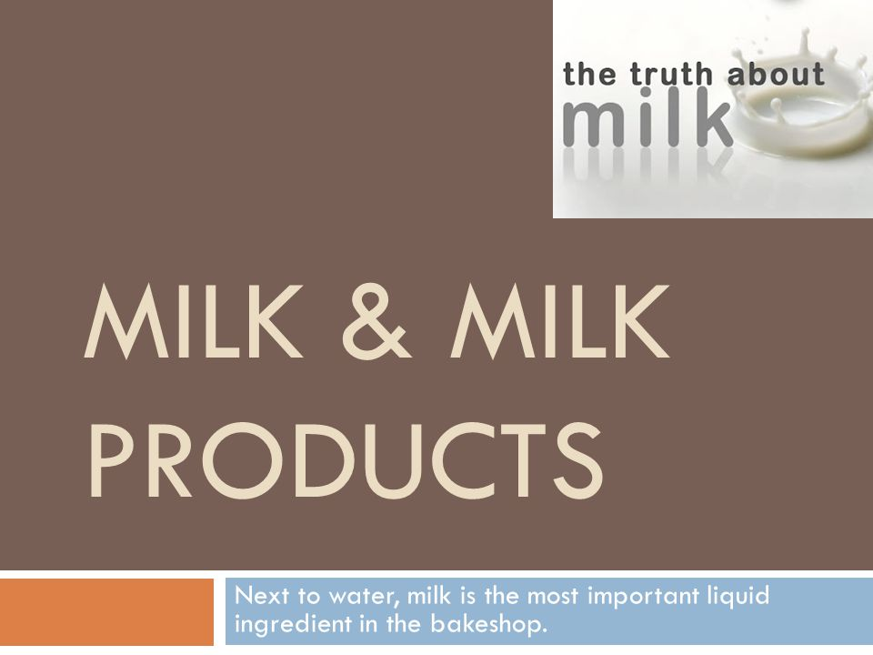 Categories and Definitions  Raw Milk: directly from cow, possibly containing disease causing bacteria.